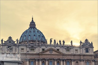 Sunset at Vatican