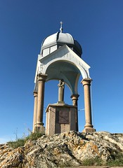 Memorial to sailors lost at sea, Pléneuf-Val-André, Bretagne
