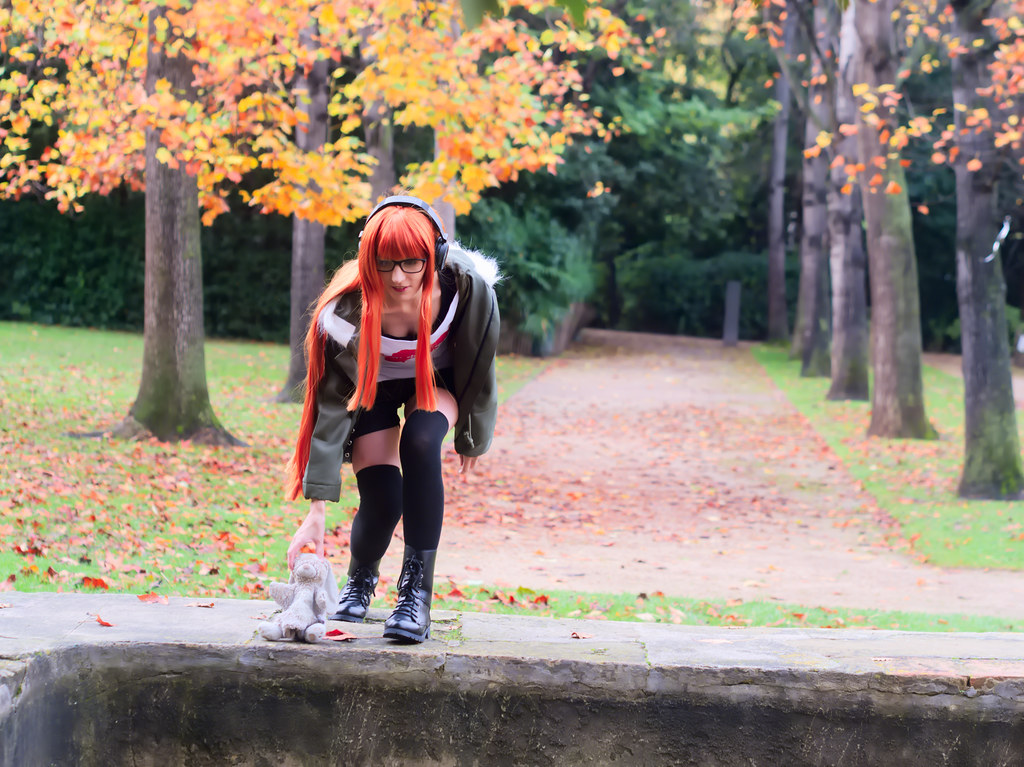 related image - Shooting Persona 5 - Futaba Sakura - Jardin de la Magalone -2018-11-10- P1388547