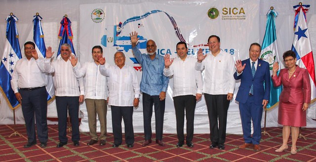 52° Reunión de Jefes de Estado y de Gobierno del SICA