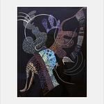 ภาพของ Centre Georges Pompidou ใกล้ Paris 04. paris france pompidou art kandinsky vasiliykandinskiy канди́нский gouache