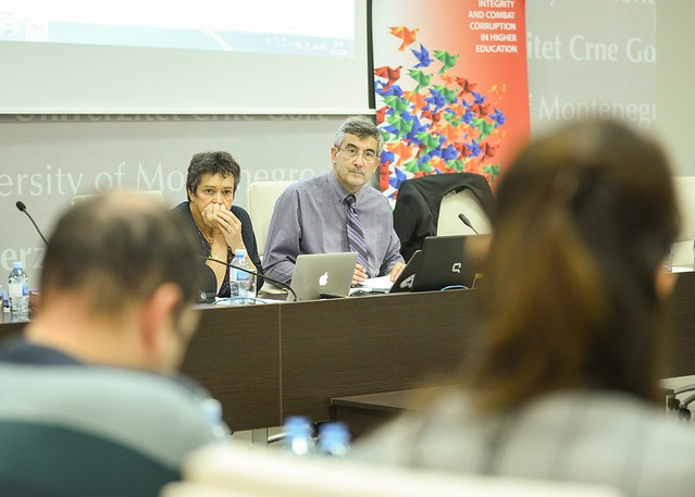 MONTENEGRO: workshop on ethics, integrity, anti-fraud and plagiarism held at the University of Montenegro