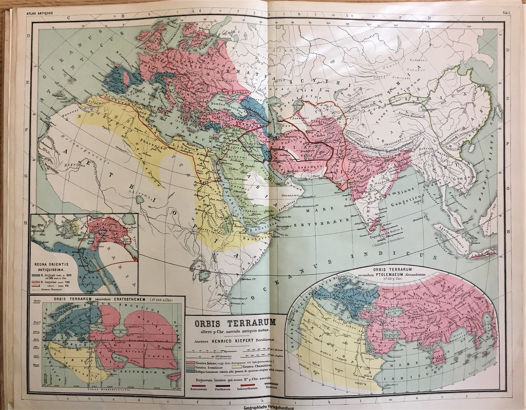 Kiepert map europe asia | Special Collections, Wake Forest ...