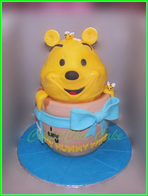 Cake Pooh MY HUNNY WIFE 15 cm