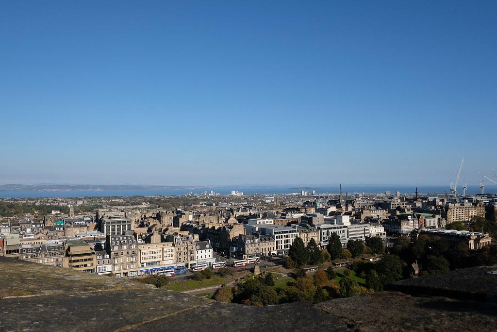 Best View from Edinburgh Castle | One day in Edinburgh