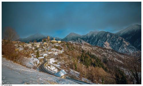 Winter in der Südschweiz  /Winter in southern Switzerland