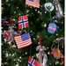 Close-up of the Norwegian Christmas Tree