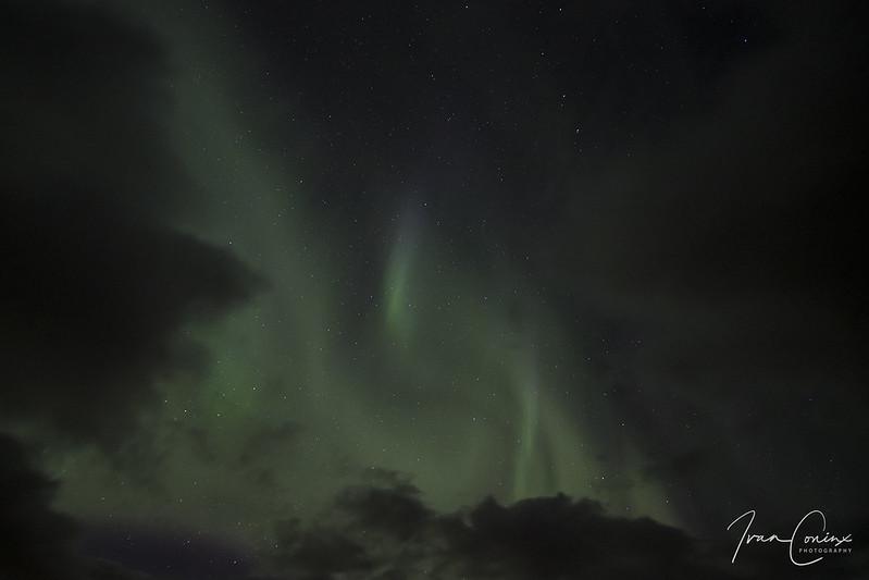 Aurora Borealis – Iceland – 2018 03 18 – 01 – Copyright © 2018 Ivan Coninx