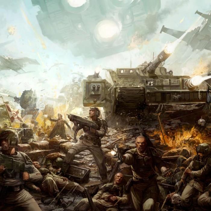 [Crazy Orc, 22.12.18] Astra Militarum vs Squats (4000pts)  45510837675_629d689f27_o