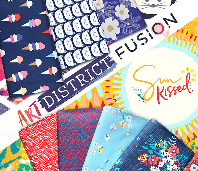Art Gallery Fabrics Art District Fusion Collection by AGF Studio