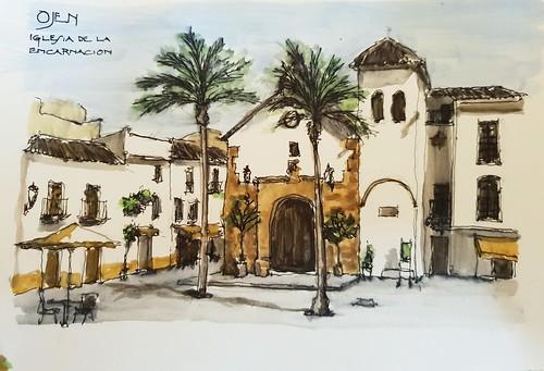 Iglesia de la Encarnación Ojén (Málaga)