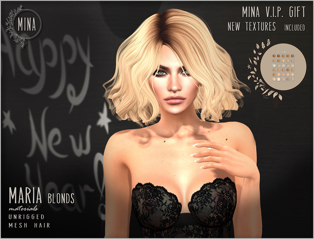 MINA – New VIP gift: Maria – Blonds (new textures included)