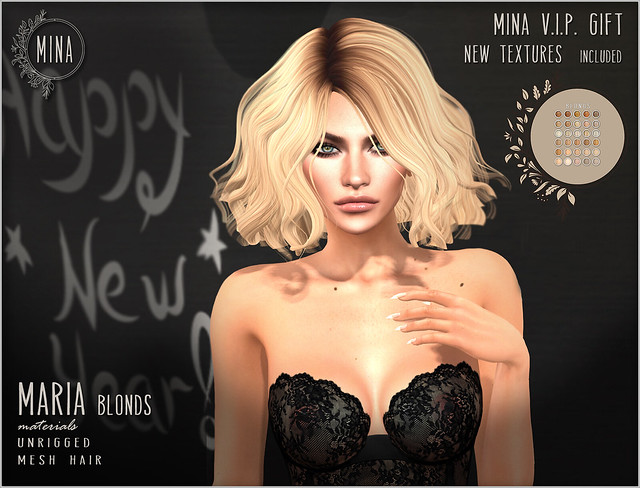 MINA - New VIP gift: Maria - Blonds (new textures included)