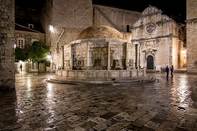 Large Onofrio's Fountain, Dubrovnik, Croatia