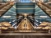 The Subway station HafenCity Überseequartier