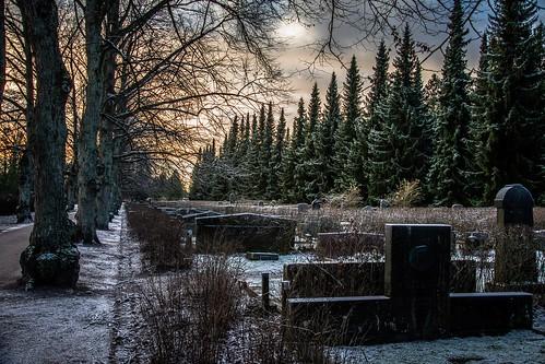 Malmi cemetery Helsinki