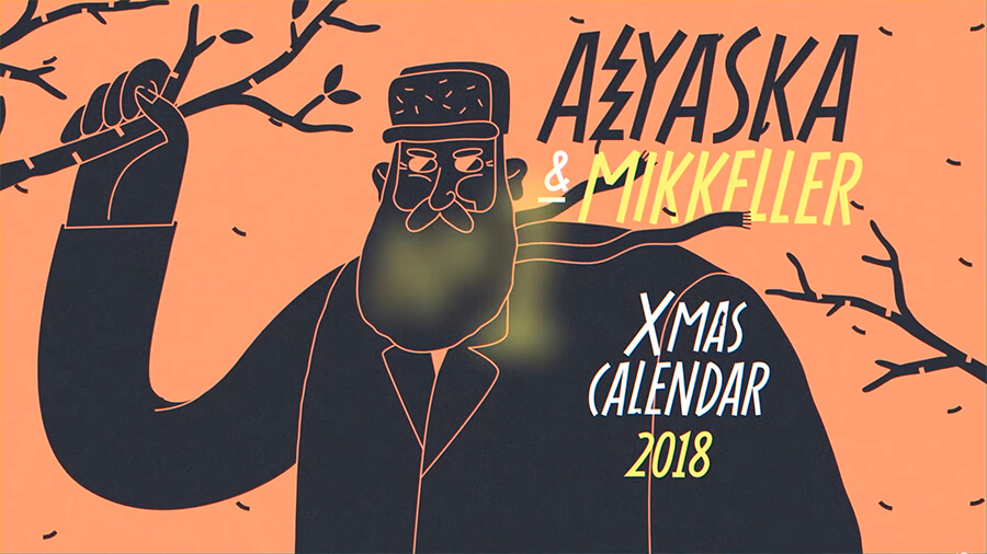 Серия рождественских видео для Mikkeller