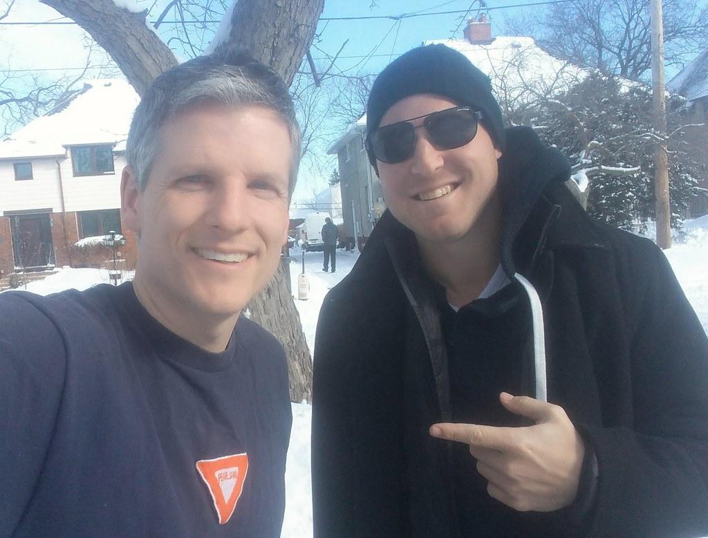 Jeff Simmons and me
