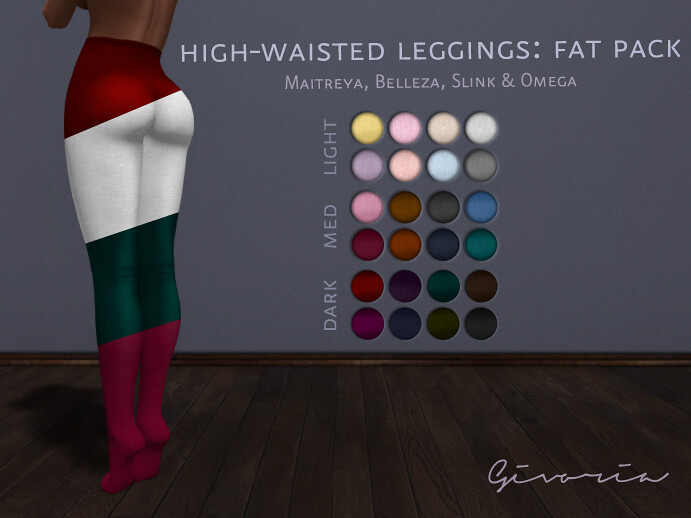 High-Waisted Leggings Fat Pack