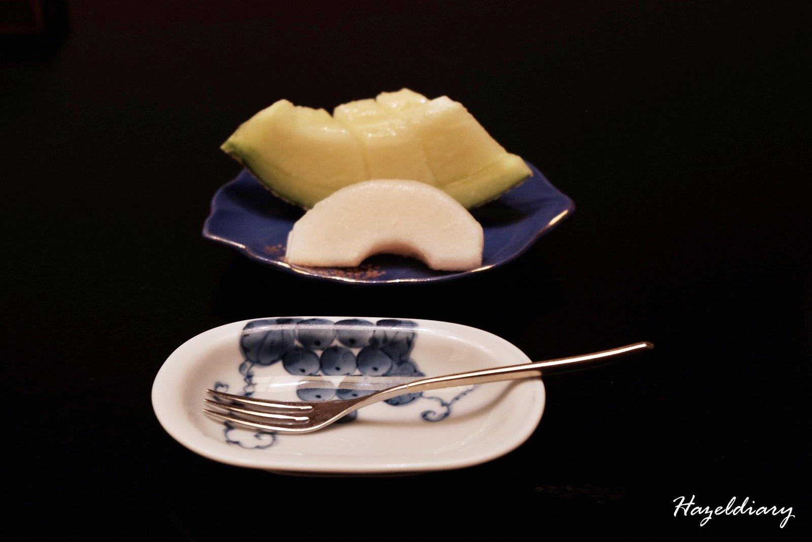 kaiseki soujuan keio plaza hotel tokyo-Dessert