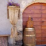 Italian village door