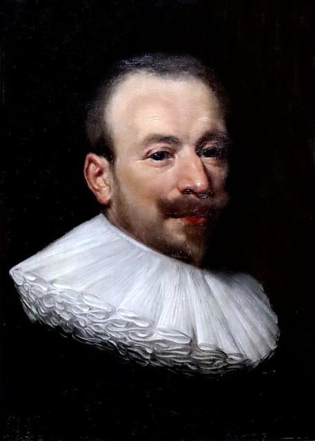 Photo:IMG_1025 Michiel van Mierevelt 1657-1641 Delft Brustbild eines Mannes. Half-length portrait of a man. Schwerin.Staatliches Museum By jean louis mazieres