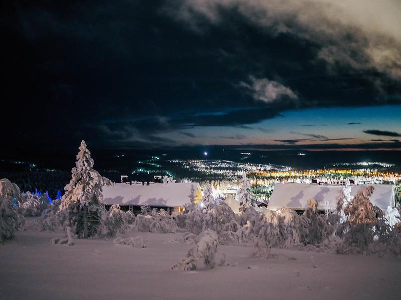 PC295317,PC295249, snow, lumi, lappi, lapland, northern finland, pohjois suomi, saariselkä, saariselka, maisema, scenery, winter, talvi, luonto, nature, matkat, travel, kaunispään huippu, top of the kaunispää, polar night, kaamos, taivas, sky, winter, talvi, luonto, nature,