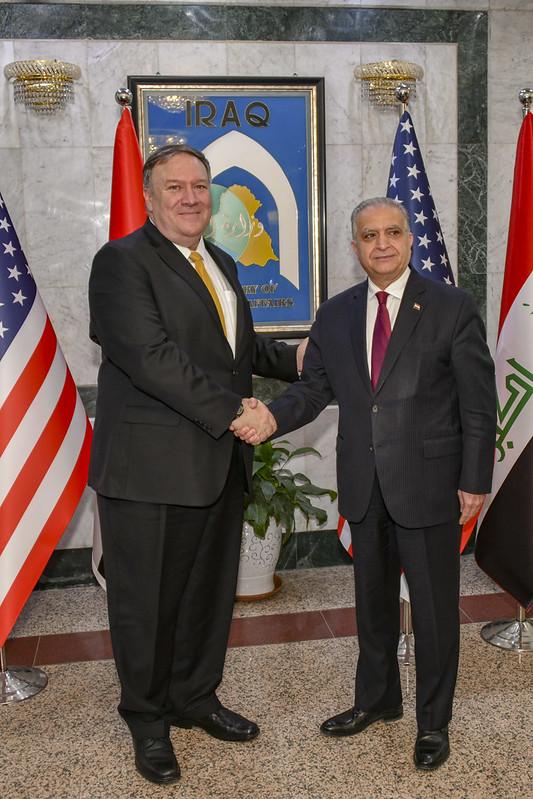 Secretary Pompeo Meets Iraqi Foreign Minister Hakim