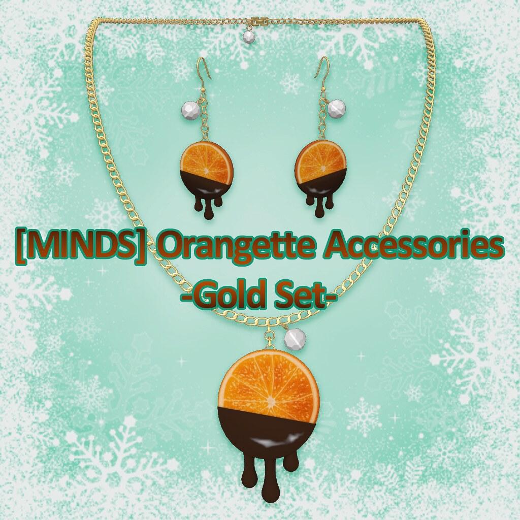 [MINDS] Orangette Accessories Gold Set AD - TeleportHub.com Live!
