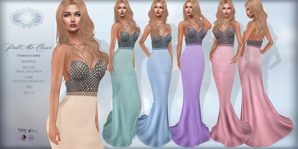 *Lurve* Pull Me Closer Gown Phat Pack - TeleportHub.com Live!
