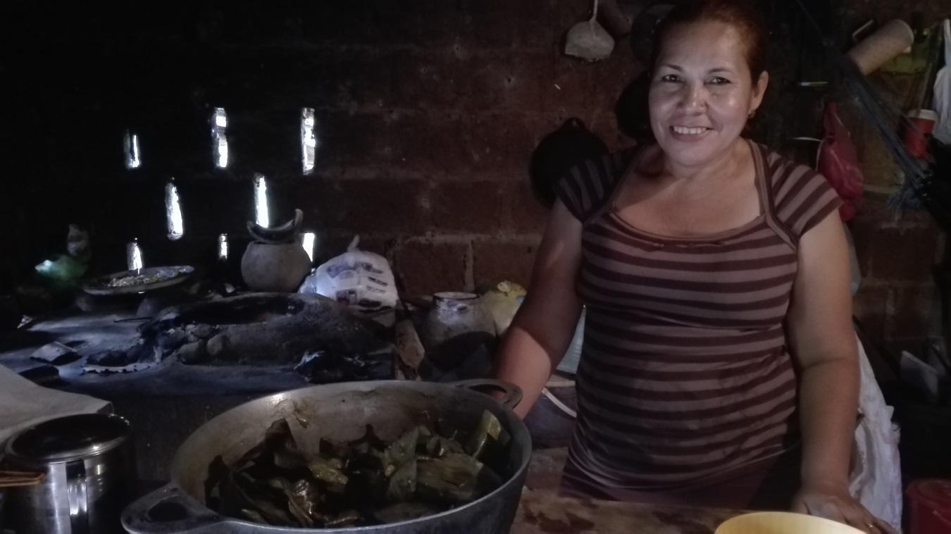 Doña Flor en su cocina