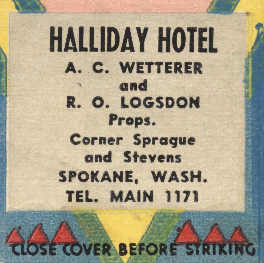 Halliday Hotel - Spokane, Washington