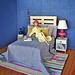 Dioramas de dormitorios
