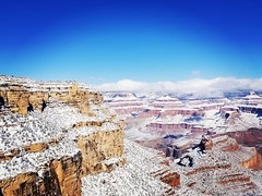 #GrandCanyon in snow