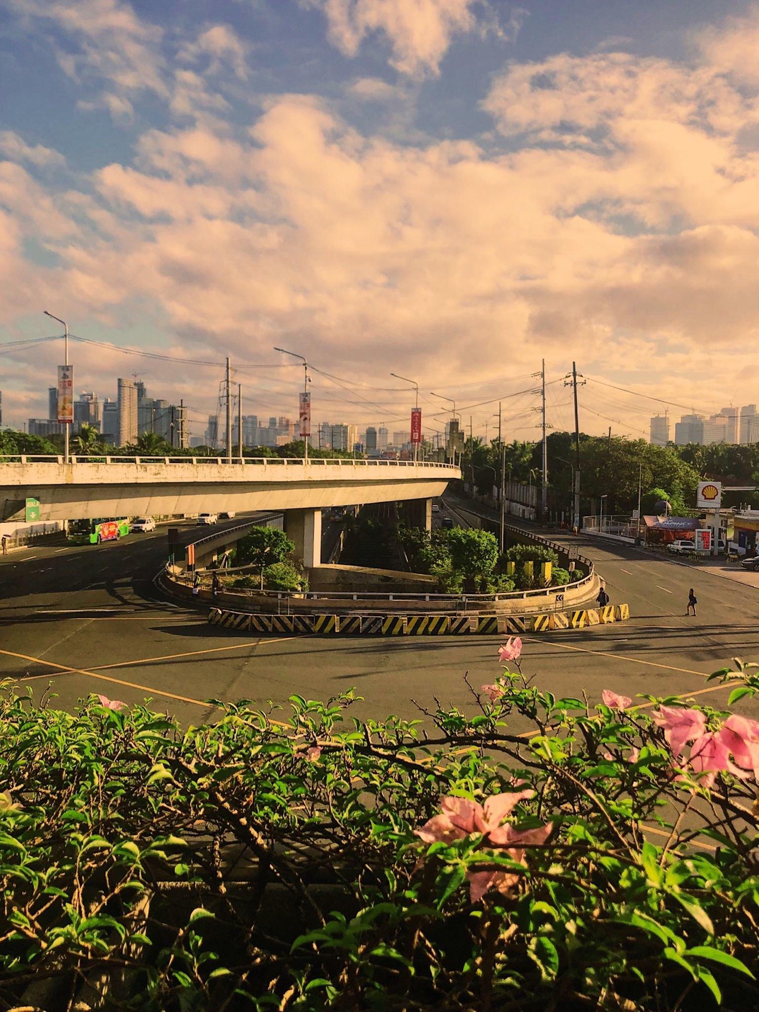 Running in Makati