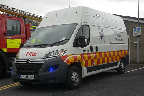 Monaghan Fire Authority 2016 Citreon Relay HPMP Fire ISU 162MN302