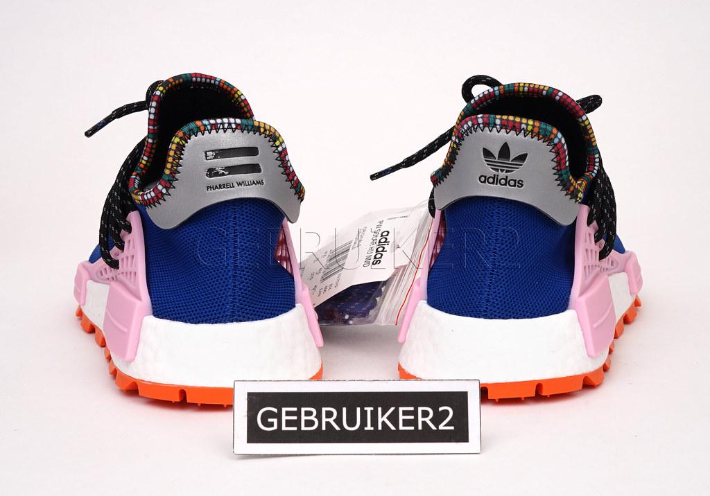 61de47cd5 adidas Originals x Pharrell PW Solar Hu NMD Inspiration Pack Powder ...