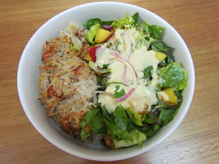 Stone Fruit and Lentil Salad with Creamy Mustard Dressing; Tater Tot Kugel