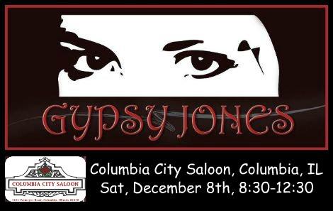 Gypsy Jones 12-8-18