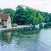 The Upper Medway River at Allington Lock, Kent, 11th June 1994