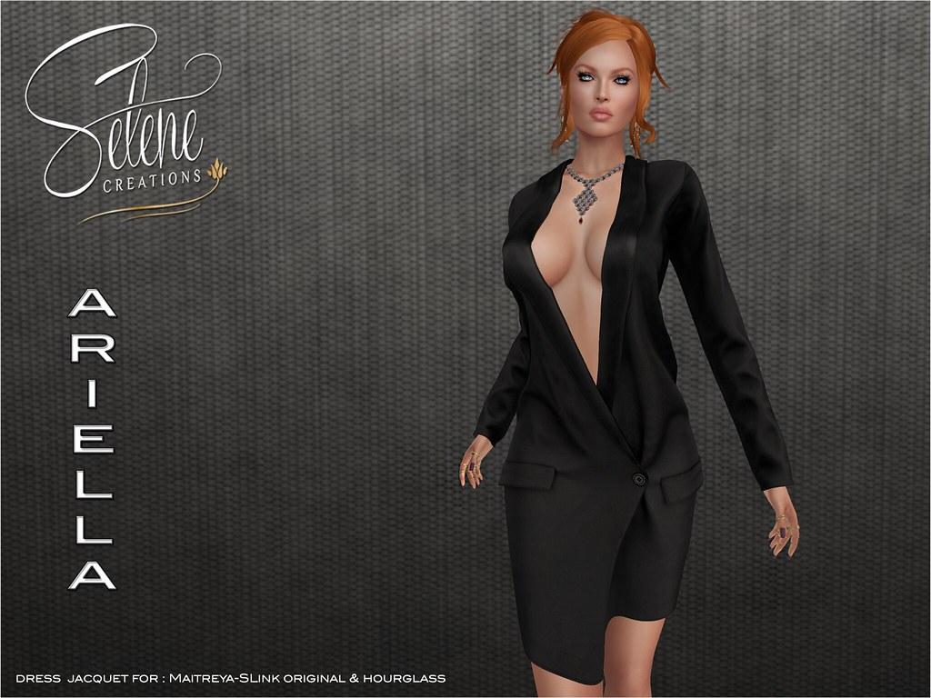 [ Selene Creations ] Ariella dress-jacket