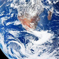 Earth from the space. Original from NASA. Digitally enhanced by rawpixel.