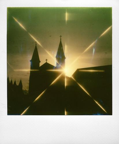 Contre jour ... Eglise des Rédemptoristes (Tournai)