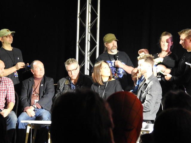 Firestorm panel - MCM Comic Con - Sam Payne Picture 2