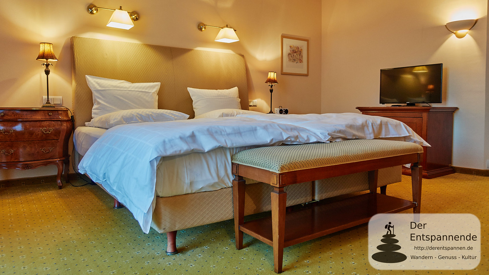 Zimmer im Hotel Erbprinz Ettlingen