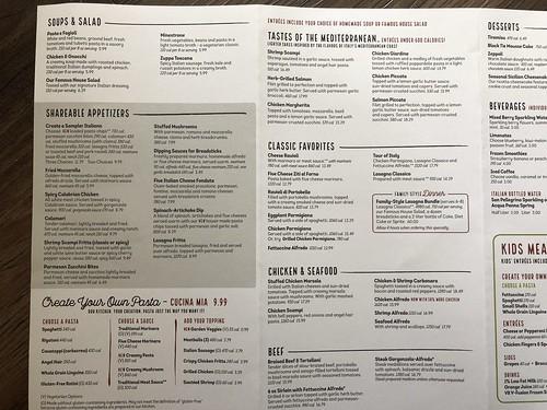 Olive Garden Prices 6