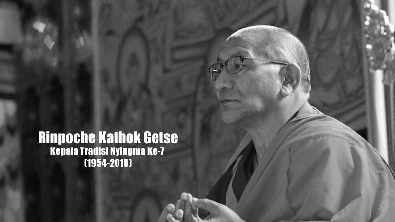 Rinpoche Kathok Getse, Kepala Tradisi Nyingma Ke-7