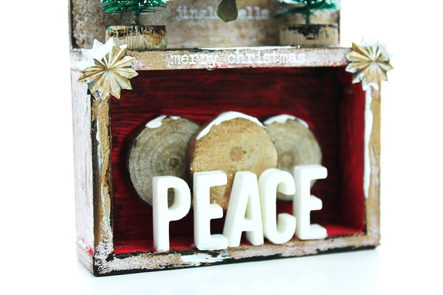 Meihsia Liu Simply Paper Crafts Mixed Media Tag Gift It Christmas Decor Simon Says Stamp Tim Holtz 5