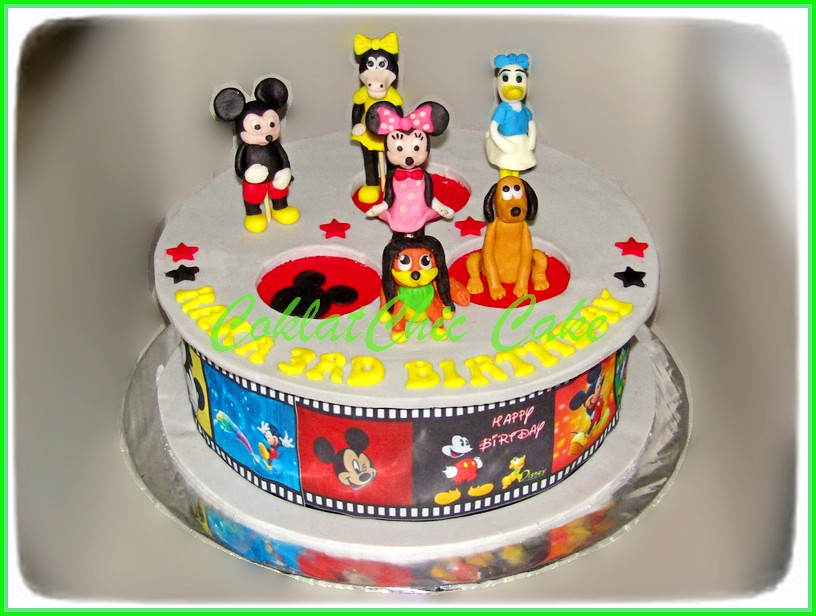 Cake Mickey & friends  RAKA 24 cm