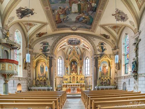 Pfarrkirche zum Hl. Sebastian in Weißenbach am Lech